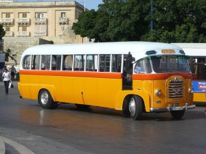 The iconic yellow buses are no longer in use as public transport.